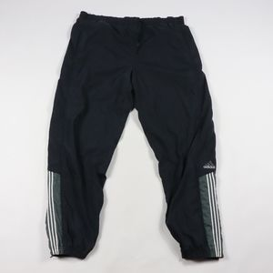 90s Adidas Mens 2XL Fleece Lined Jogger Pants